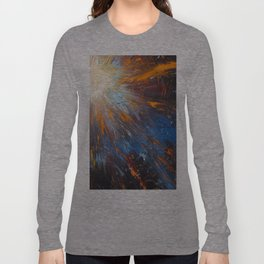 Shine Christ's Light Worship Art Long Sleeve T-shirt