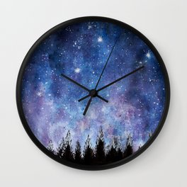 Watercolor's Sky Wall Clock