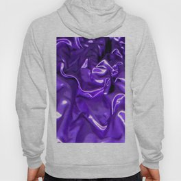 Ultra Violet Satin Material Hoody