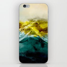Abstract Mountain iPhone Skin