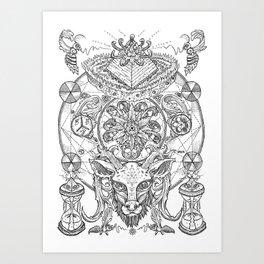Primal Reverence Art Print
