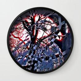 Intruder Incognito; red - Hawk, v6 Wall Clock