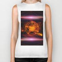 pentagram Biker Tanks featuring Pentagram  by nicky2342