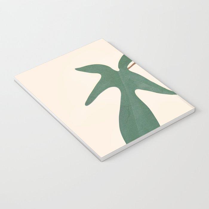 Minimal New Leaf Notebook