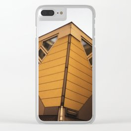Cube houses Clear iPhone Case