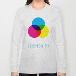 Threesome Long Sleeve T-shirt