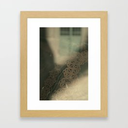 Moving out of View Framed Art Print