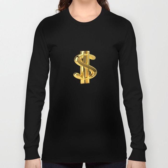 Dollar sign   Long Sleeve T-shirt