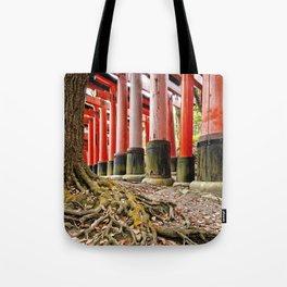 Fushimi Inari Shrine, Kyoto, Japan Tote Bag
