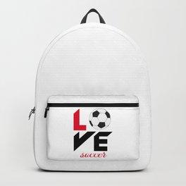 Love soccer Backpack