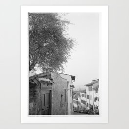 Streets of Florence Art Print