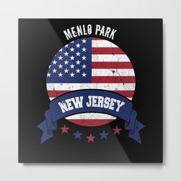 Menlo Park New Jersey Metal Print
