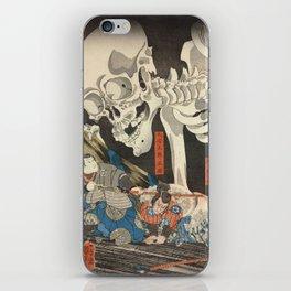 Takiyasha the Witch and the Skeleton Spectre iPhone Skin