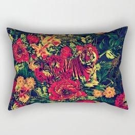 Vivid Jungle Rectangular Pillow