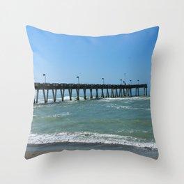 A November Day In Venice Throw Pillow