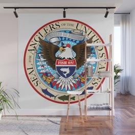 Seal For Anglers of the USA Wall Mural