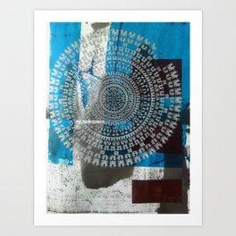 Dance Mandala Art Print