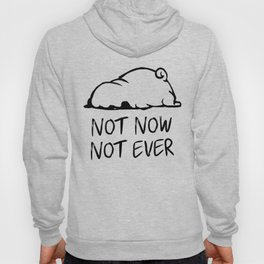 Not Now Not Ever Hoody