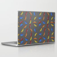 cars Laptop & iPad Skins featuring Cars by PrisonBlockS