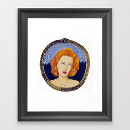Patron Saint of Skeptics Framed Art Print