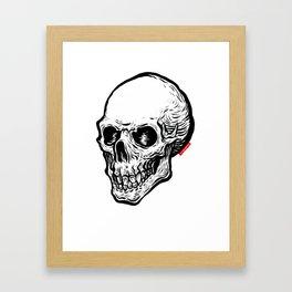 Skull 09 Framed Art Print