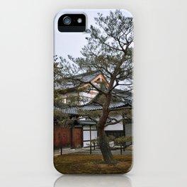 Golden Pavilion in Kyoto, Japan iPhone Case