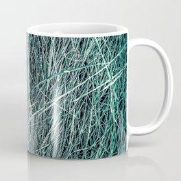green grass texture abstract background Coffee Mug