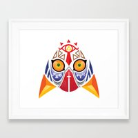 majora Framed Art Prints featuring Majora Color by CrodriguezArt