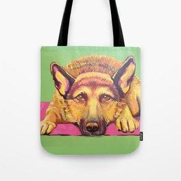 Ava Dog Tote Bag