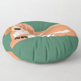 George Floor Pillow