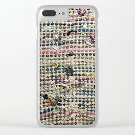 Sustainable Tatters Clear iPhone Case