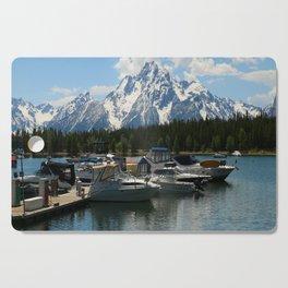 Pleasure Crafts on Jackson Lake Cutting Board