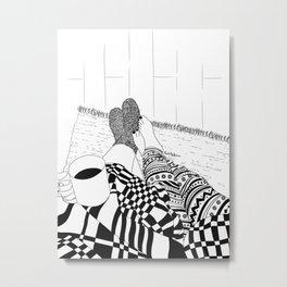 Cozy Night Metal Print