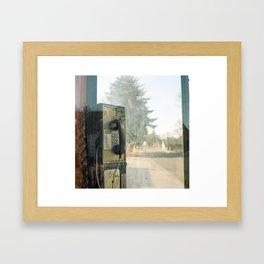 Payphone.  Framed Art Print