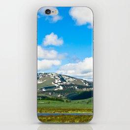 Yellowstone Mountain iPhone Skin