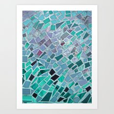 Energy Mosaic Art Print