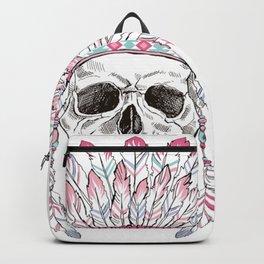 INDIAN--SKULL Backpack