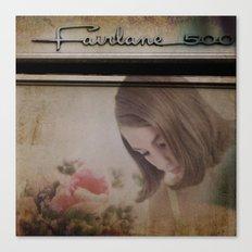 Fairlane Girl Canvas Print