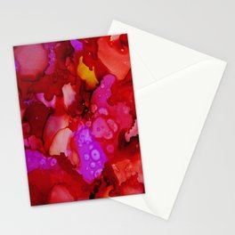 Red Ache Stationery Cards