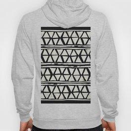 Tribal Geometric Band Hoody