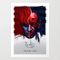 House of Cards fan art Art Print
