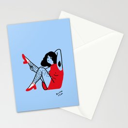 Keep Your Shoes On Stationery Cards