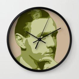 Patrick White Wall Clock