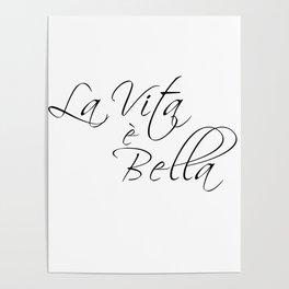 la vita e bella - life is beautiful Poster