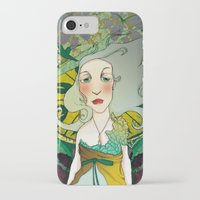 mucha iPhone & iPod Cases featuring mucha chas by lilumon