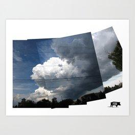Cloud.4 Art Print