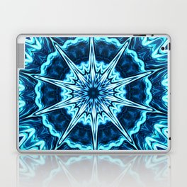 Psychedelic Blues Laptop & iPad Skin