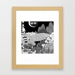 Botanical Doodle 3/3 Framed Art Print