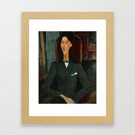Amedeo Modigliani  -  Jean Cocteau Framed Art Print