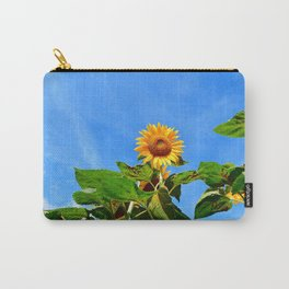 Sunflower in the Sky Carry-All Pouch